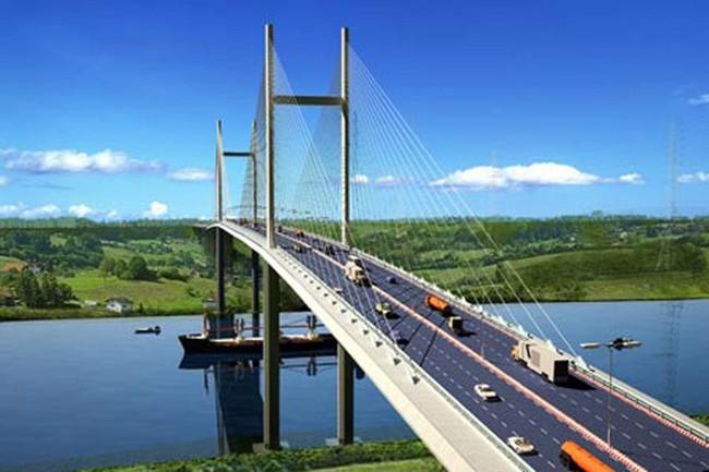 Cầu Cần Giờ sẽ được kết nối trực tiếp với đường Nguyễn Lương Bằng nối dài