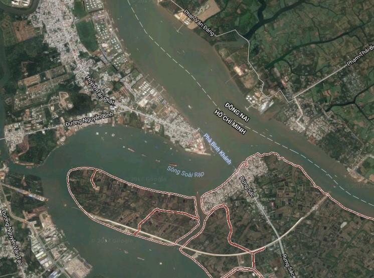 Xây cầu nối huyện Nhà Bè và huyện Cần Giờ - Khu Nam đón sóng hạ tầng